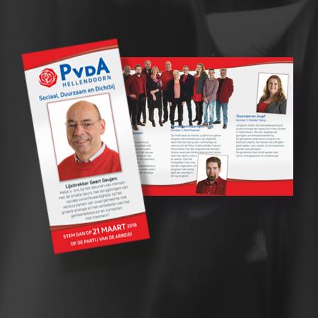 PvdA Flyer